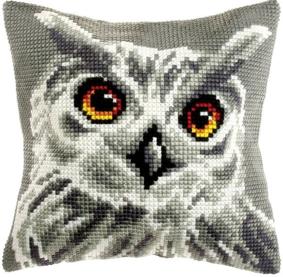 White Owl CROSS Stitch Tapestry Kit, Orchidea ORC9532