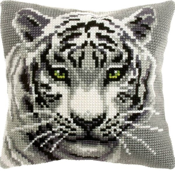 White Tiger CROSS Stitch Tapestry Kit, Orchidea ORC9531