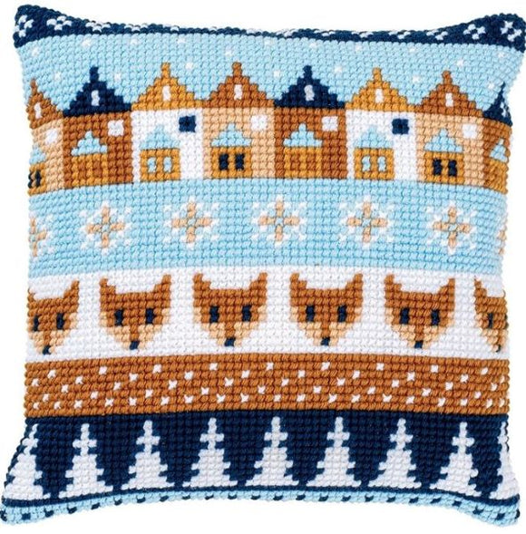 Winter Motifs CROSS Stitch Tapestry Kit, Vervaco PN-0170316