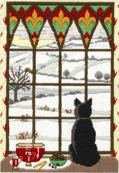 Winter Through the Window Long Stitch Kit, Anchor AL78467