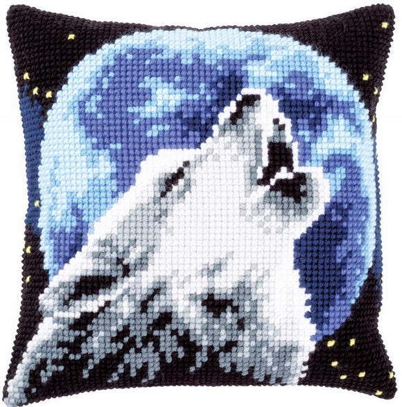 Wolf CROSS Stitch Tapestry Kit, Vervaco PN-0171818