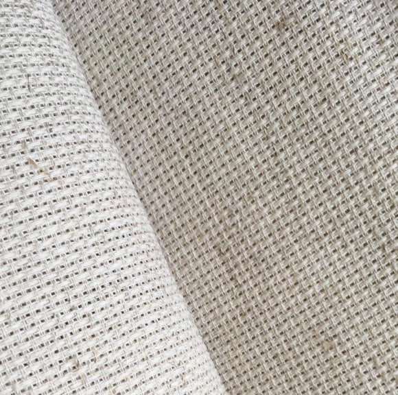 Aida 14 count Rustico Fabric, Zweigart 14ct Aida, PER METER - Wheat