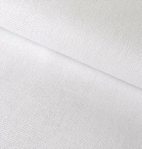 Zweigart Linda Evenweave Fabric, 27 count FAT QUARTER -White 100