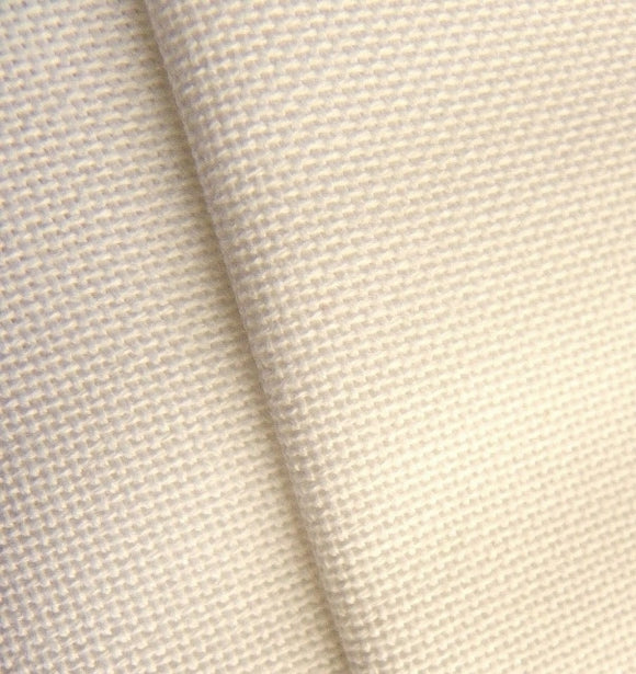 Zweigart Lugana Evenweave Fabric, 25 count FAT QUARTER -Cream 264