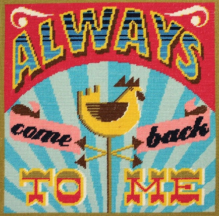Always Come Back To Me Tapestry Kit, Emily Peacock Needlepoint, C118K