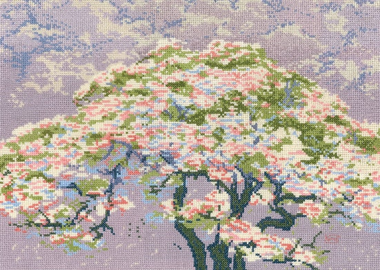 Cherry Blossom, Counted Cross Stitch Kit, DMC BL1149/73