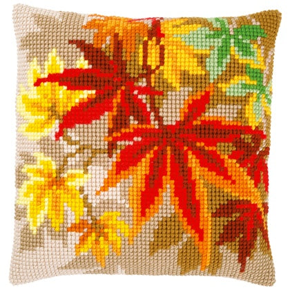 Autumn Leaves CROSS Stitch Tapestry Kit, Vervaco PN-0157754