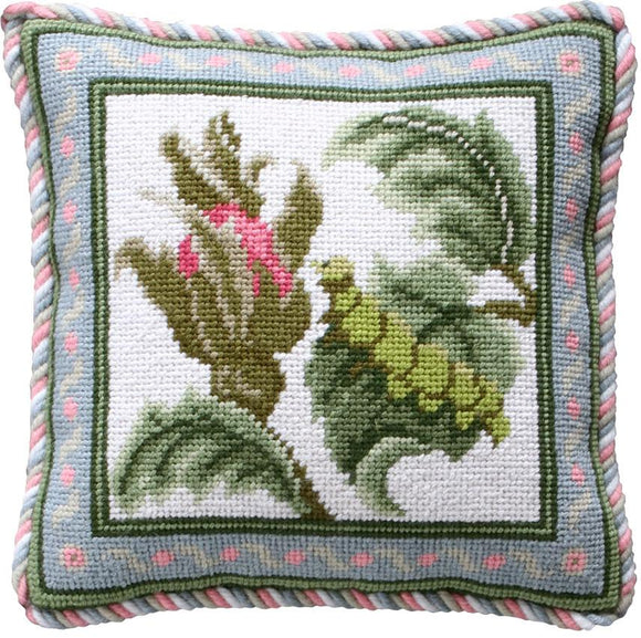 Beth Russell Needlepoint Tapestry Kit, Rose Garden Mini Caterpillar