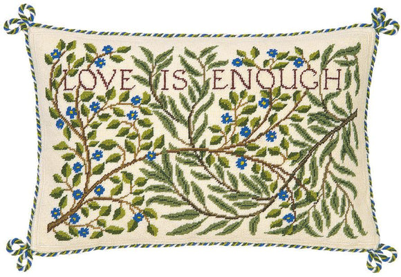 Beth Russell Needlepoint Tapestry Kit, William Morris Love is Enough