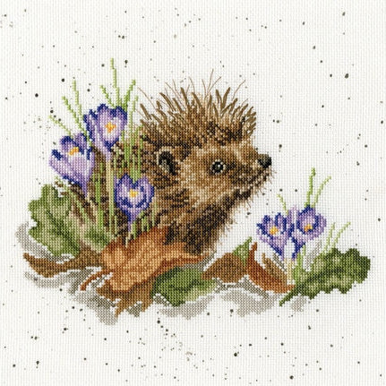 Cross Stitch Kit New Beginnings, Hannah Dale Wrendale Designs XHD51