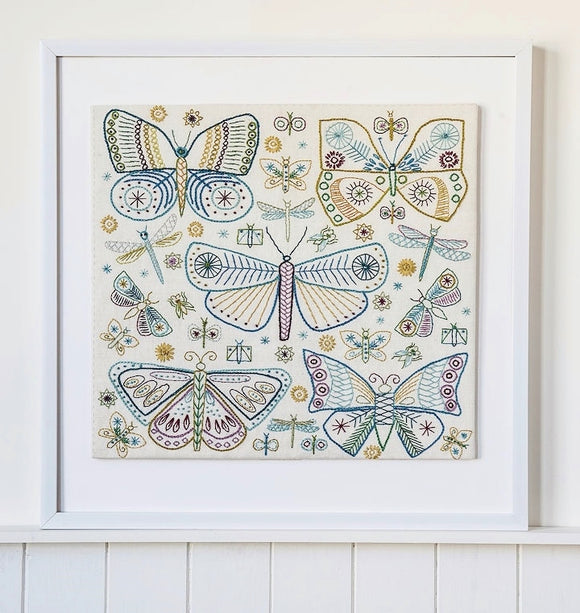 Butterfly Embroidery Kit, Nancy Nicholson