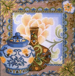 Chinese Ambiance Counted Cross Stitch Kit, Royal Paris
