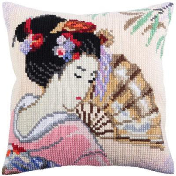 Beautiful Japanese CROSS Stitch Tapestry Kit, Collection D'Art CD5316