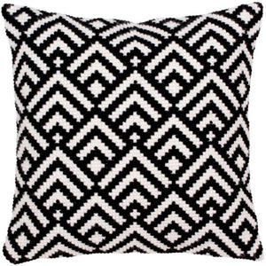 Black and White CROSS Stitch Tapestry Kit, Collection D'Art CD5276