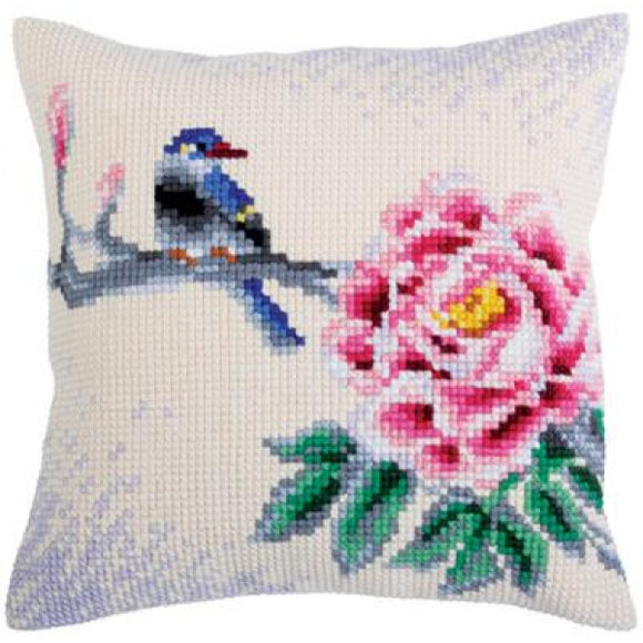 Oriental Bird CROSS Stitch Tapestry Kit, Collection D'Art CD5319