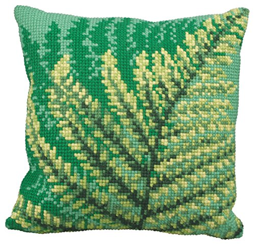 Green Ferns CROSS Stitch Tapestry Kit, Collection D'Art CD5171