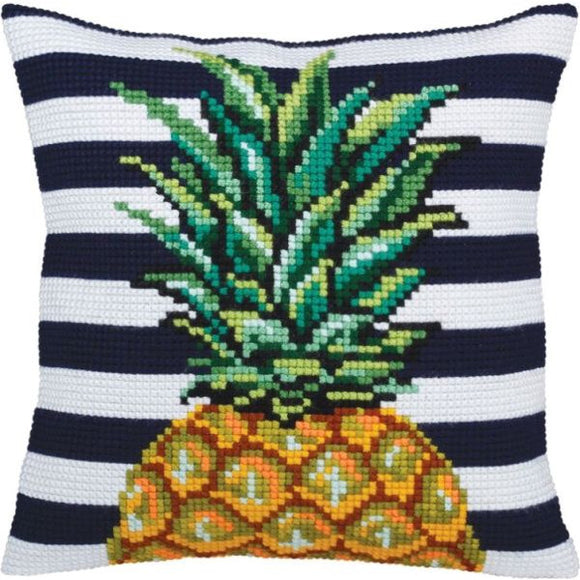 Pineapple CROSS Stitch Tapestry Kit, Collection D'Art CD5359