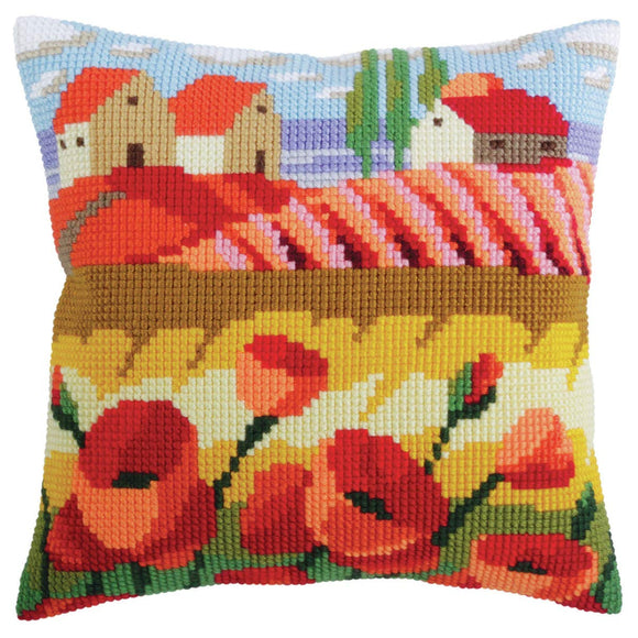 Poppy Field 1 CROSS Stitch Tapestry Kit, Collection D'Art CD5320