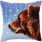 Winter Bear CROSS Stitch Tapestry Kit, Collection D'Art CD5305