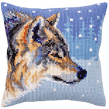 Winter Wolf CROSS Stitch Tapestry Kit, Collection D'Art CD5303