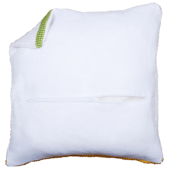 Cushion Back with Zip, 45 x 45cm - White PN-0174415