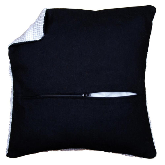 Cushion Back with Zip, 45 x 45cm - Black PN-0174417