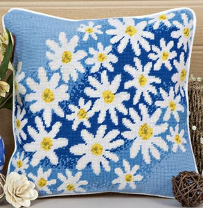 Daisy Breeze Tapestry Kit Needlepoint Kit, Twilleys 0015