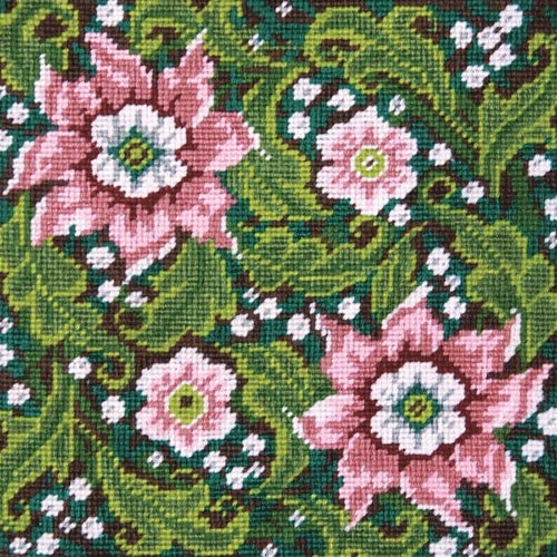 Artful Flowers Tapestry Kit, Needlepoint Starter, Design Works 2517
