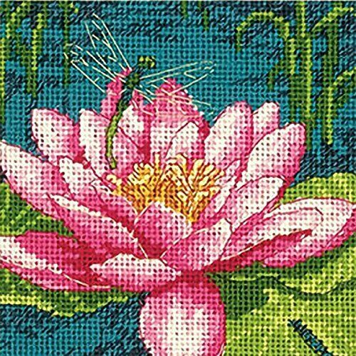 Dragon Lily Tapestry Needlepoint Kit, Dimensions D71-07240