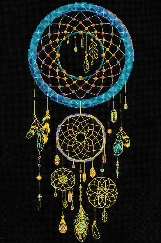 Dream Catcher Counted Cross Stitch Kit, Riolis R1803