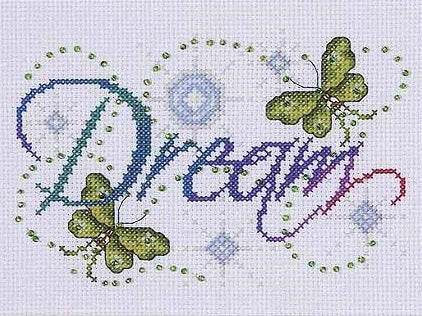 Dream Cross Stitch Kit, Design Works 9797