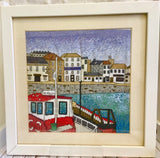 Falmouth Harbour, Cornwall Counted Cross Stitch Kit, Emma Louise Art Stitch