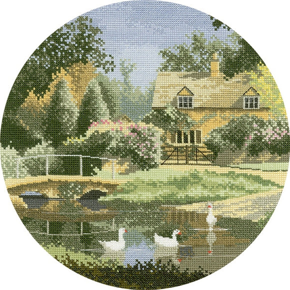 Ford Way Cross Stitch Kit, John Clayton Circles, Heritage Crafts