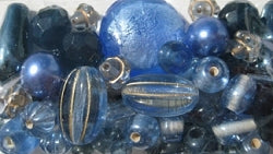 Glass Beads - Luxury Bead Pack - French Country Blue 2538