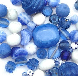 Glass Beads - Luxury Bead Pack -Blue Skies 2503
