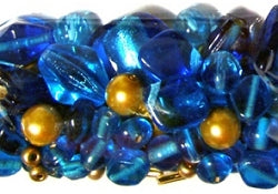 Glass Beads - Luxury Bead Pack - Broadway Blue 2507