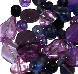 Glass Beads - Luxury Bead Pack - Grape Juice 2531