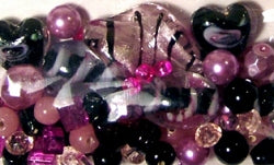 Glass Beads - Luxury Bead Pack - Pretty in Pink 2528
