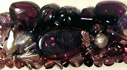 Glass Beads - Luxury Bead Pack - Teaberry Mauve 2535