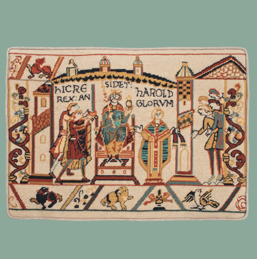 Glorafilia Needlepoint Kit Bayeux Tapestry Kit, Coronation of Harold