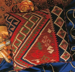 Glorafilia Tapestry Kit, Needlepoint Kit Sophia Kelim GL5092