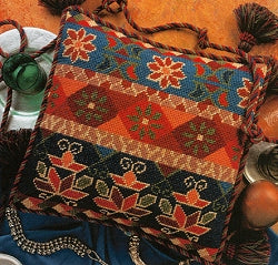 Glorafilia Tapestry Kit, Needlepoint Kit Topkapi Kelim GL5070