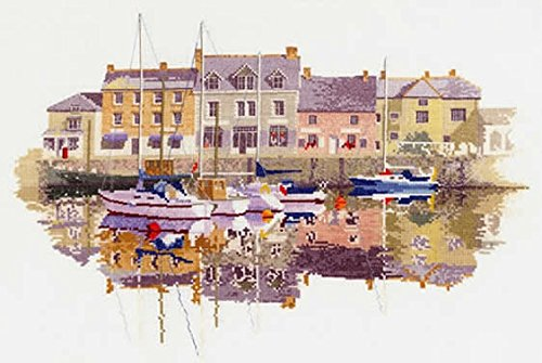 Harbour Reflections Counted Cross Stitch Kit, John Clayton Heritage Crafts