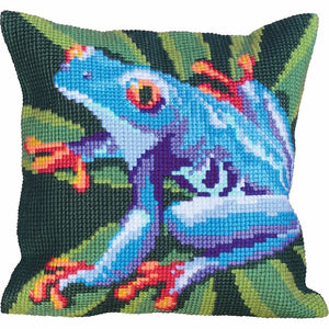 Heavenly Frog CROSS Stitch Tapestry Kit, Collection d'Art CD5032