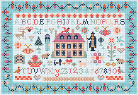 Jane Austen Needlepoint Tapestry Kit, Riverdrift House RR467