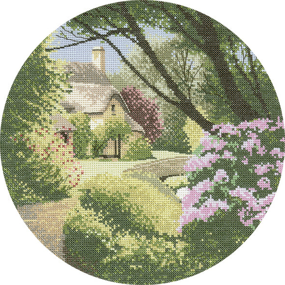 Secret Garden Cross Stitch Kit, John Clayton Circles, Heritage Crafts