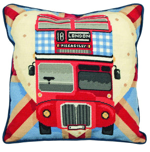London Bus Tapestry Kit Needlepoint, Anchor ALR76