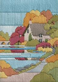 Long Stitch Kit, Autumn Walk Long Stitch MLS23