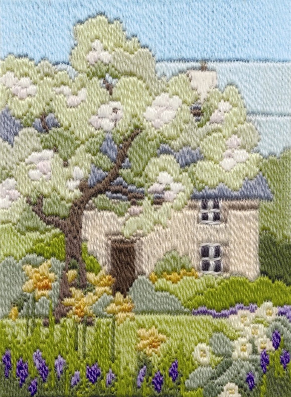 Long Stitch Kit, Cottage Garden Spring Long Stitch MLS17