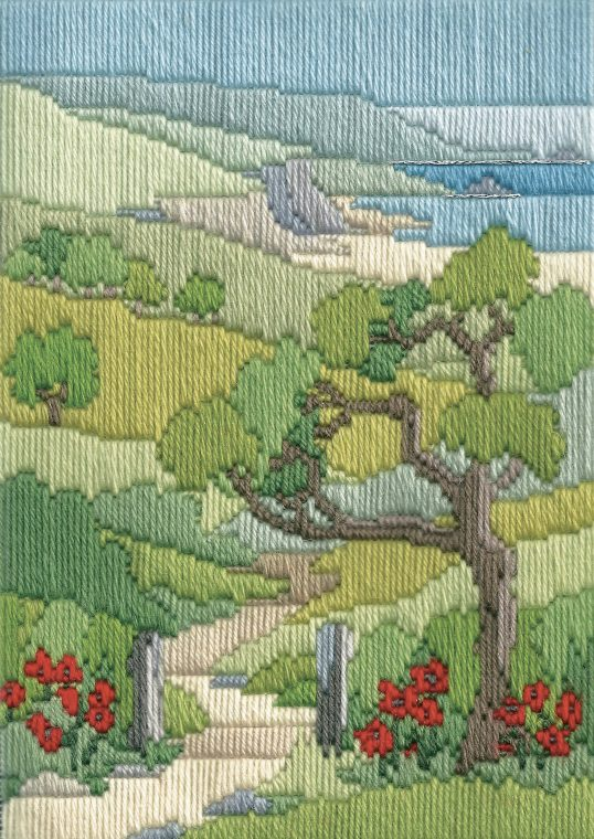 Long Stitch Kit, Summer Walk Long Stitch MLS22